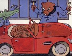 Die Autowerkstatt: Ein Klipp-Klapp-Buch