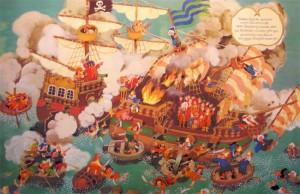 Ali Mitgutsch Piraten Wimmelbuch