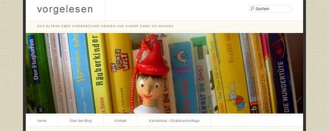 Andere Kinderbuch-Blogs im Netz: vorgelesen