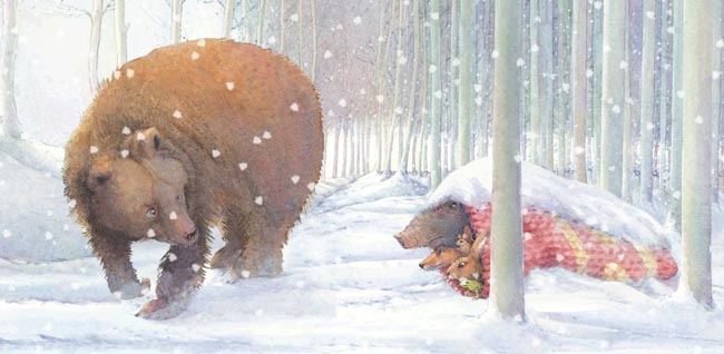 Ein Märchen im Schnee von Loek Kopmans
