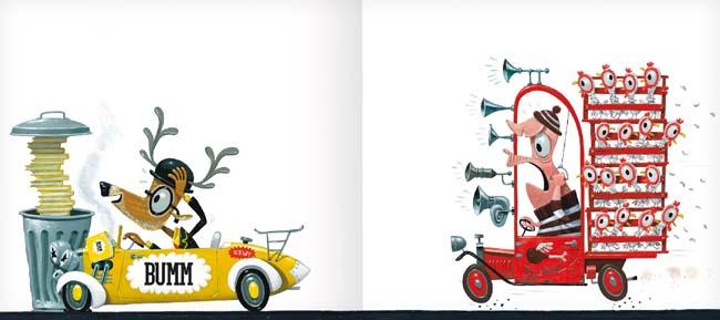Bumm - Lesen kann gefährlich sein (Kinderbuch von Leo Timmers - ab 3 Jahren)