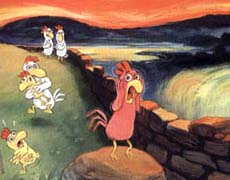 Die kleinen Hühnchen - Erfolgs-Kinderbücher aus Frankreich