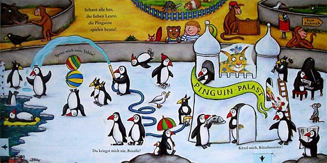 Das Kitzelbuch - Pop-up-Buch von Grüffelo-Zeichner Axel Scheffler
