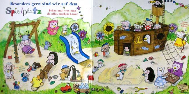 Pelle und Pünktchen - gutes Kinderbuch ab 2 Jahren