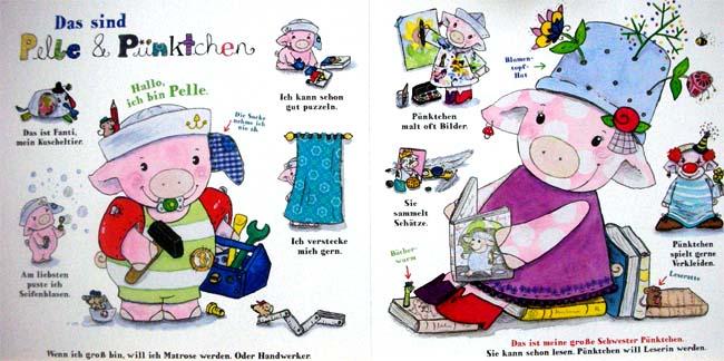 Pelle und Pünktchen - Kinderbuch ab 2 Jahren