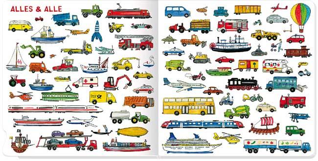Schau mal, so viele Fahrzeuge - Pappbilderbuch ab 18 Monaten für Auto-Fans