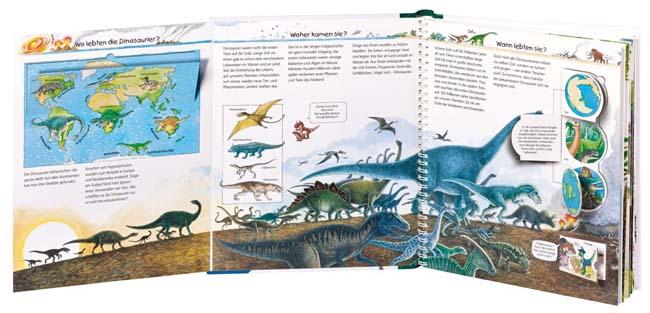 Kinderbücher ab 4: Wir erforschen die Dinosaurier