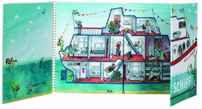 Kinderbücher ab 3: Unser Schiff - Antje von Stemm