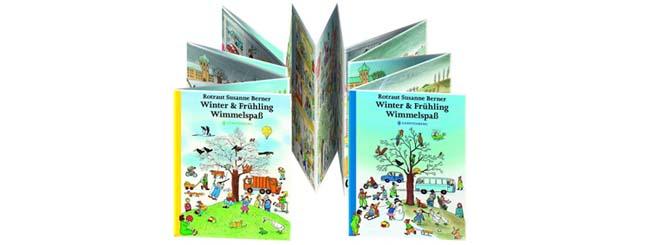 Kinderbücher ab 2: Winter und Frühling Wimmelspaß