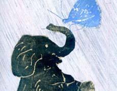 Kinderbuch ab 4: Der Elefant und der Schmetterling - E.E.Cummings