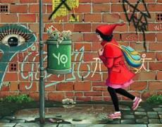 Das Mädchen in Rot - Kinderbuch ab 5 Jahren von Roberto Innocenti