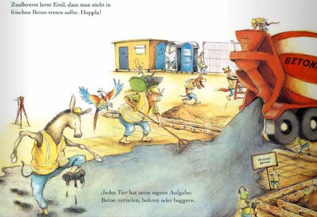 Emil auf der Baustelle - Kinderbuch ab 4 Jahren