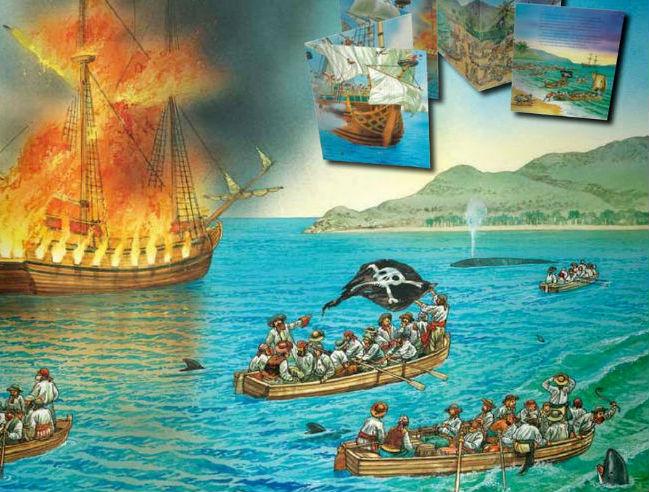 Endlos-Sachgeschichten: Piraten - Kinderbuch ab 4 Jahren