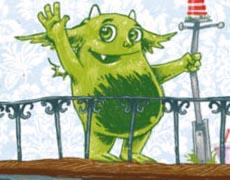 Mumpelmonster: Wo geht die Reise hin? Kinderbuch ab 6 Jahren