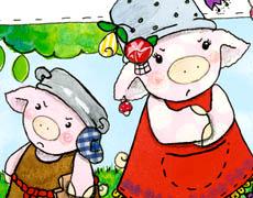 Pelle und Pünktchen streiten und vertragen sich - Kinderbuch ab 2 Jahren