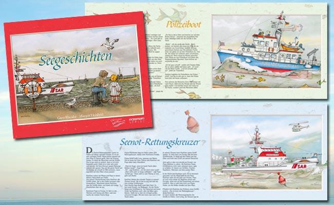 Seegeschichten - Kinderbuch für alle Meer- und Schiffsfans