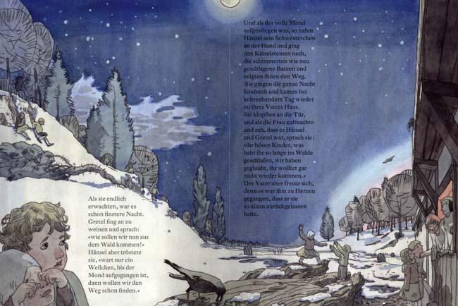 Hänsel und Gretel - Bilderbuch von Markus Lefrançois