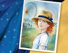 Stella Menzel und der goldene Faden - Kinderbuch, Roman