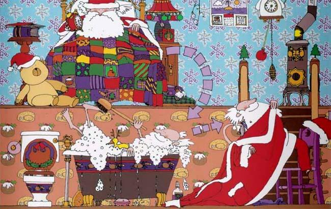 Wie der Weihnachtsmann wirklich funktioniert - Kinderbuch von Alan Snow