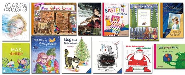 Das große Weihnachts-Gewinnspiel auf gute-kinderbücher.de