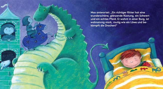 Max, der Ritter - Kinderbuch