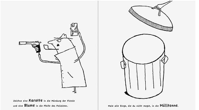 Mein großes Kritzel-Schnipsel Buch - Kinderbuch zum Ausmalen und Basteln