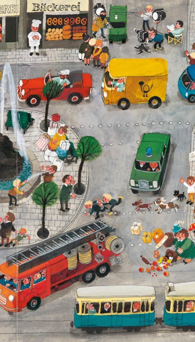 Das Riesenbilderbuch von Ali Mitgutsch - Wimmelbuch, Kinderbuch
