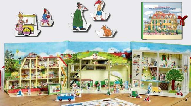 Willkommen in Wimmlingen - Kinderbuch zum Spielen