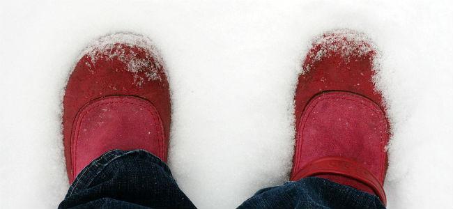 Hurra, es hat geschneit