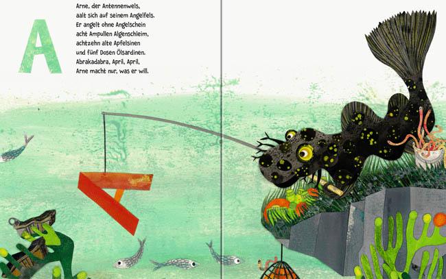 Das Unterwasser ABC - Kinderbuch