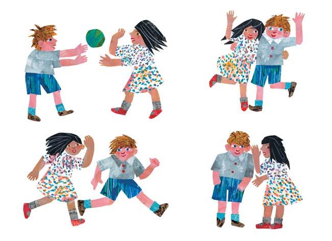 Kinderbücher: Freunde von Eric Carle