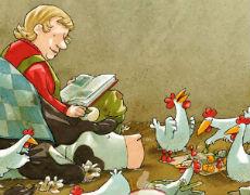 Lieselotte ist krank - Kinderbuch