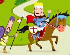 Mein Stickerbuch: Ritter und Burgen