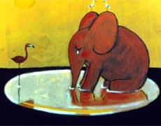 Wie der kleine Elefant einmal sehr traurig war