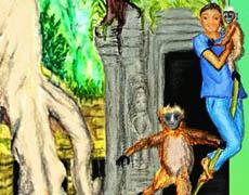 Kinderbuch: Die Reise der blauen Perle nach Kambodscha