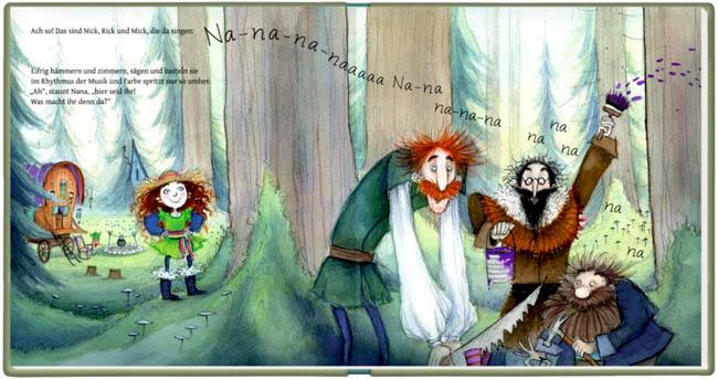Kinderbuch: Nana aus dem Räuberwald