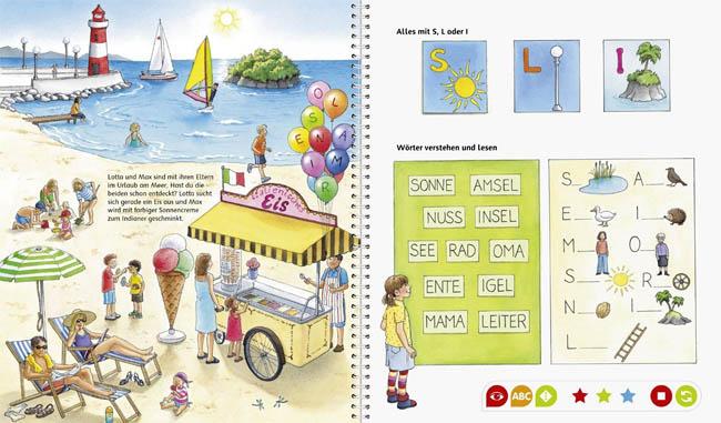 Kinderbuch: Erste Buchstaben (Tiptoi)