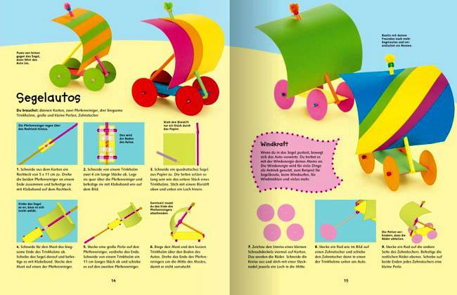 Kinderbücher: Zisch, Blubber, Knall - Experimente und Basteleien