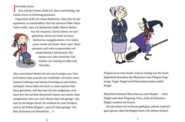 Kinderbücher: Die fabelhafte Geschichte von Anne Kaffeekanne