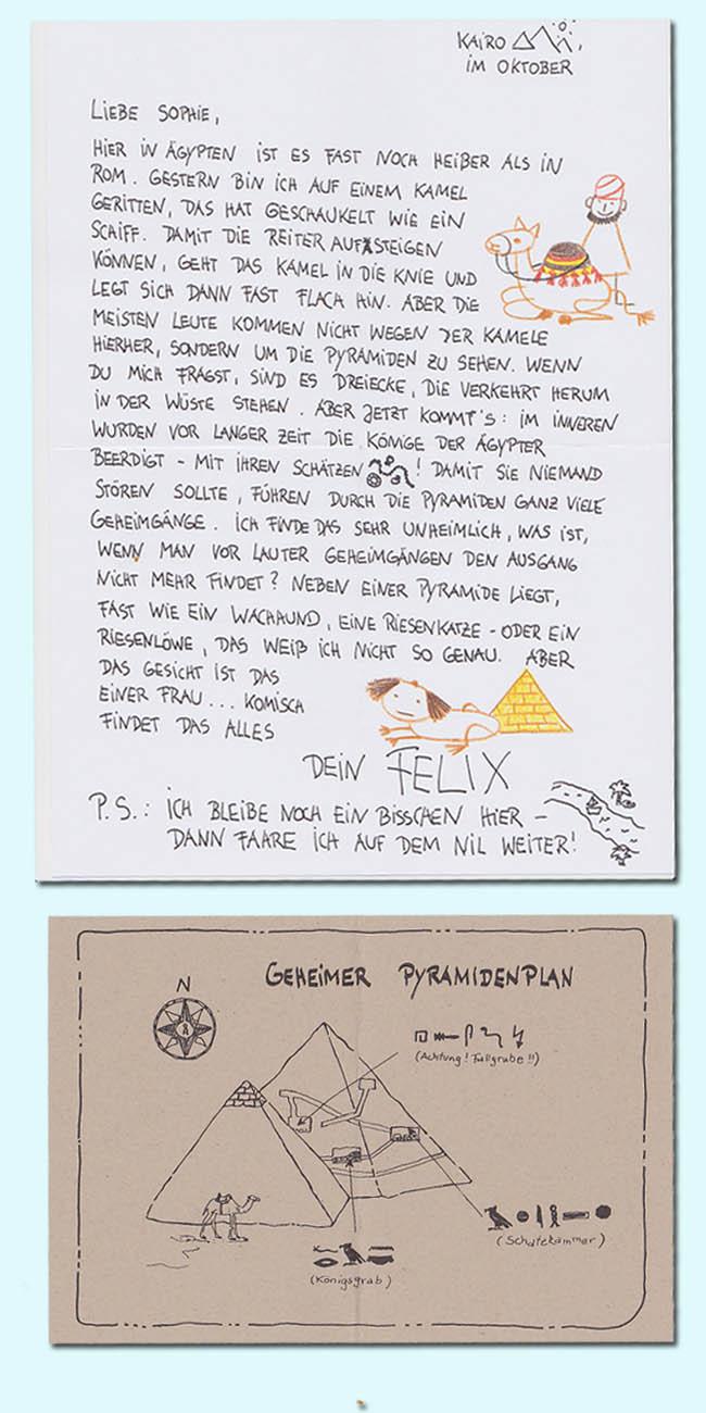 Kinderbücher: Briefe von Felix: Ein kleiner Hase auf Weltreise