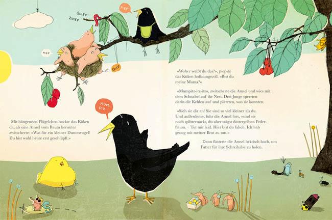 Kinderbücher: Vom Küken, das wissen wollte, wer seine Mama ist