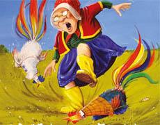 Kinderbücher: Oma Kata-Marka und die Streithähne