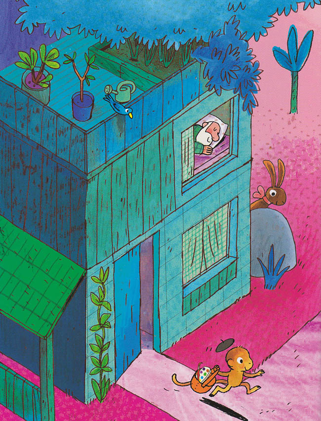 Kinderbücher: Osterhase für einen Tag
