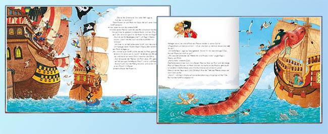Kinderbücher: Käpt'n Sharky und das Seeungeheuer