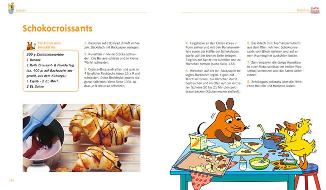 Kinderbücher: Kochen und backen mit der Maus