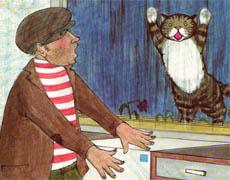 Kinderbücher: Mog, der vergessliche Kater