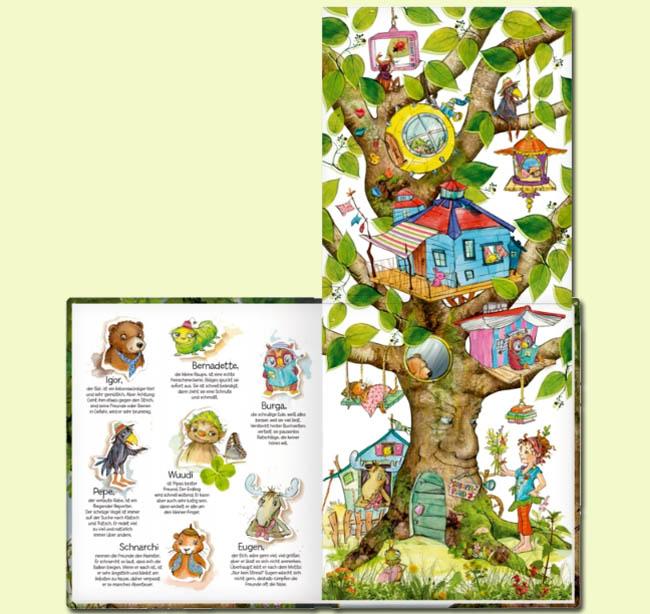 Kinderbücher: Pipa Lupina und ihre Baumhausbande