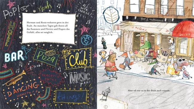 Kinderbücher: Herman und Rosie