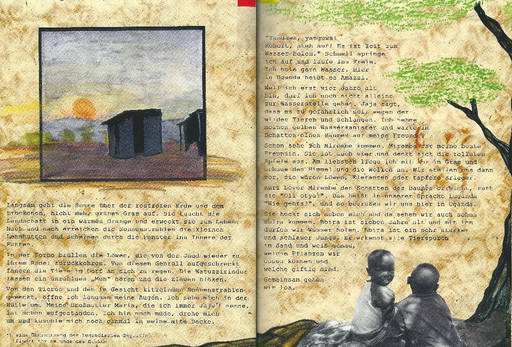 Kinderbücher: Amazzi - Robert sucht das Wasser