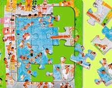 Kinderbücher: Mein großes Wimmel-Puzzlebuch von Ali Mitgutsch